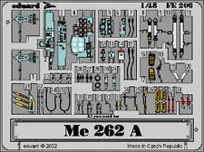 Eduard Zoom FE206 1/48 Messerschmitt Me 262 Tamiya