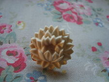 Vintage White  Flower  Push Pin~Bulletin Board/Craft Room/Office