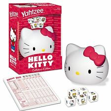 Yahtzee HELLO KITTY Dice Game by USAopoly NEW