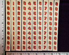 Post Office Box Door decals-Original-200,4color Decals-New/Old StockMade in USA