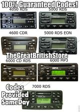 FORD RADIO CODES 4 ALL M & BP NAV NUMBERS AVAILABLE Transit Focus Mondeo Connect