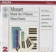 Mozart: Music For 2 Pianos, Piano Duets (Musica per 2 Piano) / Haebler, Hoffmann
