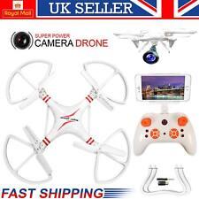 Super Power Radio Wifi Helicóptero Quadcopter Drone con Cámara 0.3 MP Drone FPV