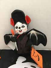 Annalee Halloween 6� 2005 Trick Or Treat Bat Mouse Nwt & Free Shipping