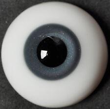 Thickened FlatBack 20MM Gray&Blue Glass BJD Eyes for Reborn  BJD Doll