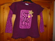 Marks and Spencer Graphic Long Sleeve Girls' T-Shirts & Tops (2-16 Years)