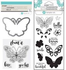 Butterfly Stamps & Dies - Butterflies, Brave, Beautiful - Hampton Art