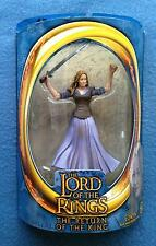 "EOWYN PURPLE DRESS LORD OF THE RINGS  6"" FIGURE LOTR TOYBIZ"