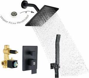 Sistema de ducha para baño,juego de cabezal de ducha de mano,montado en la pared