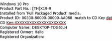 Windows 10 Pro Key (64 Bit)