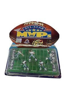 DALLAS COWBOYS All Star MVP´s 1997 Edition NFL Play Footlball 5 Poseable Figures