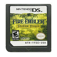 DS Cartridge Game Fire Emblem Shadow Drag US Version English NIntendo DS 3DS 2DS