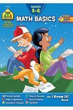 """Math Basics Grades 5-6 Workbook (An """"I Know It"""" Book) - Good - Karen Evans - Pap"""