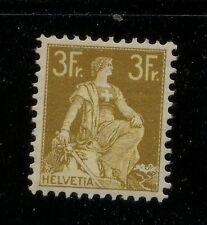 Switzerland   145  mint   3 fr  stamp                 MS0219