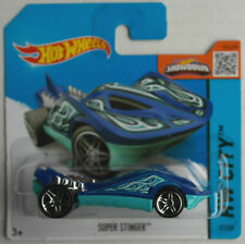 Hot Wheels Super Stinger blau/hellblau Neu/OVP Spielzeugauto Toy Car Mattel HW