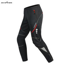 Cycling Pants Casual Bicycle Bike Tights Riding Sport Winter Fleece Long Trouser