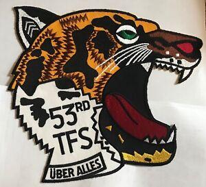 53rd TFS NATO Tiger Uber Alles Patch, large
