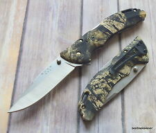 BUCK BANTAM COUNTRY LOCK-BACK FOLDING KNIFE WITH POCKET CLIP MADE IN USA