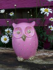 Handcrafted Hollow Ceramic Owl