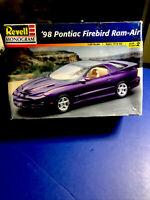 Revell'98 Pontiac Firebird Ram Air WS6 1:25#2539 Rare Factory Sealed In Open Box