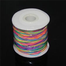 5 Metres Colorful Elastic Stretch Cord 1 mm Thread Cords Jewelry Making Crafts