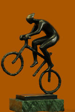 Cyclist en Bronze ou Régule Statuette Sport Vélo Bicyclette Tour de France Sale