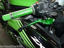 Kawasaki Zx6r 2007-2014 Plegable Ajustable Freno Embrague Palancas carrera de carretera r9a4