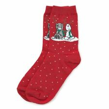 Me To You Tatty Teddy & Johan the Snowdeer Red Christmas Boxed Socks