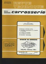 (32B) REVUE TECHNIQUE AUTOMOBILE SERVICE CARROSSERIE VOLVO 140