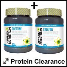 Nutrición aplicada monohidrato de creatina 2 X 500g = 1kg 200 porciones BBE 05/2018
