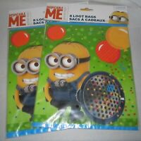 16 Party Favor Loot Bags ~ Despicable ME Minions