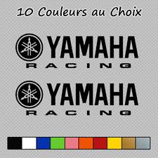 2 Stickers Yamaha Racing Decal YAM08 moto bikes pegatinas Couleurs au choix
