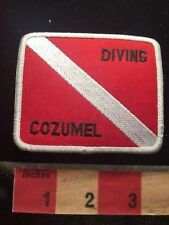 Scuba Diver DIVING COZUMEL Mexico Patch Latin America 70G2