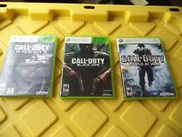Call Of Duty Modern Warfare 2 3 4 Ghosts Black Ops Xbox 360 Lot Of 6 COD Bundle