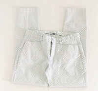 Gap Khakis Womens Size 0R Gray Pants Slim City Crop Low Rise Skinny Leg Stretch