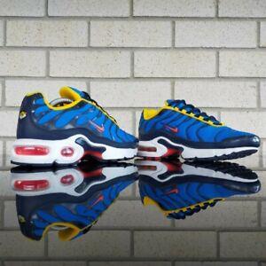 "Nike Air Max Plus TN GS ""Photo Blue"" US 5.5Y 2018 Made in Vietnam"