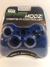 Gamer MODZ Creat a Controller Housing BLUE XBOX 360 Skin Cover