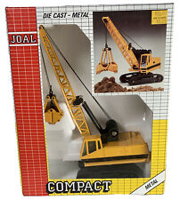 Joal Caterpillar Digging Crane #225 Die-Cast 1:70 (MIB 1990)