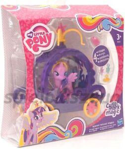 My Little Pony lila Princess Twilight Sparkle Zauberhaftes Pony-Mobil NEU