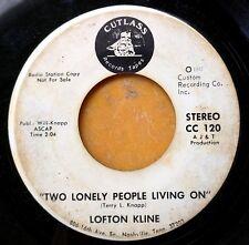 Folk /Country/Pop Promo 45: Lofton Kline (de Pozo Seco Singers) Two Lonely