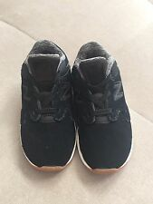 07b2cc6a05a78 New Boys Toddler New Balance 1550 Black Suede Sneakers Shoes Size 8