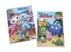 NEW Set of 2 Sheriff Callie Disney Junior Kids Coloring Book Activity Books Set