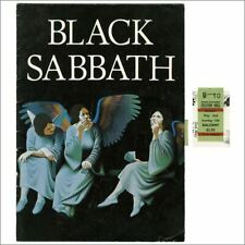 Black Sabbath 1980 Heaven & Hell Tour Programme & Ticket Stub (UK)