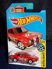 Hot Wheels 2016 Speed Graphics Series #185 '70 Ford Escort RS1600 CASTROL Red