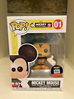 MICKEY MOUSE 90 YEARS LIMITED EXCLUSIVE FUNKO POP ANIMATION DISNEY #01