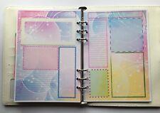 Filofax A5 Organiser Planner - Pretty Bubble Paper Bullet Boxes - set of 20