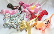 Huge Lot of (10) VICTORIA'S SECRET Love PINK Dogs Some Rare FREE S&H!