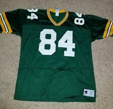 Bill Schroeder Champion Green Bay Packers NFL JERSEY - Green 52 #84 Vintage