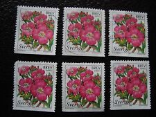 SUEDE - timbre yvert et tellier n° 2044 x6 obl (A29) stamp sweden
