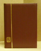 GIBBONS STOCK BOOK - 64 BLACK  PGS - RED CVR - NEW - FREE SHIP  #SGIB-R2671RED